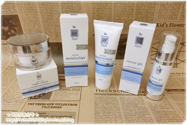 【保養】QV Face -  舒敏保濕系列 ~ 換季也能輕鬆擁有漂亮又水嫩的肌膚