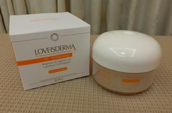 【保養。美白】Loveisderma 愛斯德瑪 ~ 深層白皙加強凝膠面膜(文末抽獎)