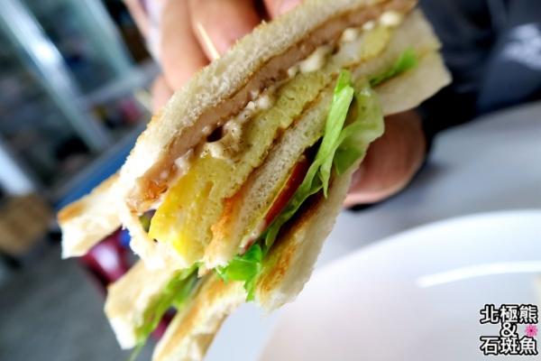 <西式早餐>Dou Be廚房-新鮮現做、營養均衡的碳烤三明治