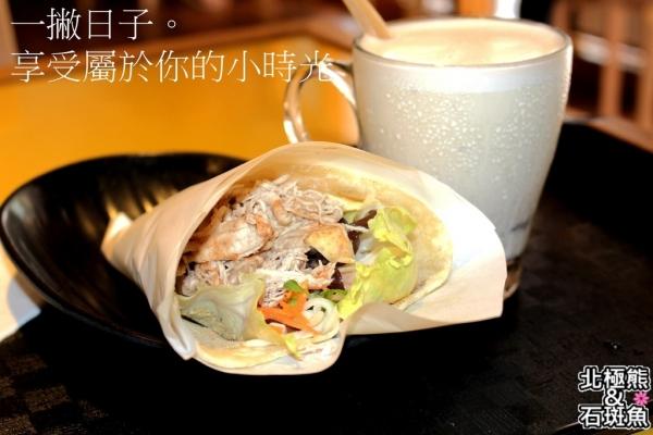 <早午餐>一撇日子厚豆漿專門店-享受屬於你的小時光,喝豆漿也能很文青,輕食捲餅健康無負擔