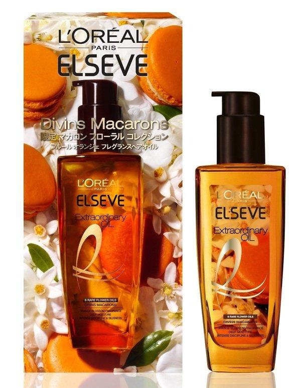 [限量]巴黎萊雅金緻護髮精油 馬卡龍橙花香氛限定版 產品圖.jpg