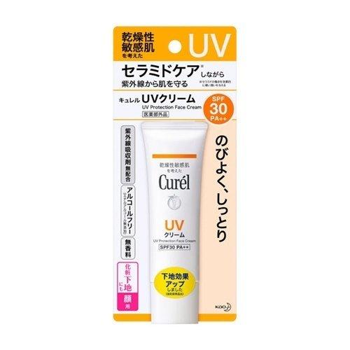 Curel 潤浸保溼防曬乳霜(臉部)SPF25PA++.jpg
