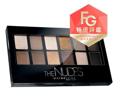 MAYBELLINE媚比琳時尚伸展台訂製12色眼彩盤Nude Palette.jpg