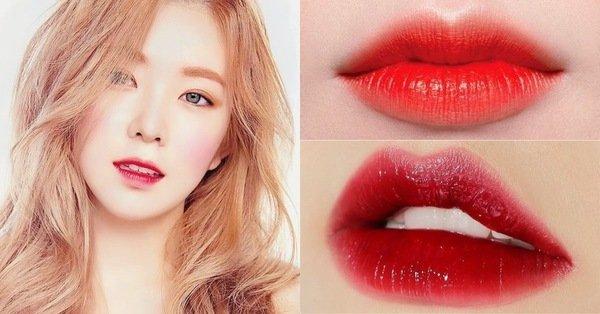 red velvet 唇