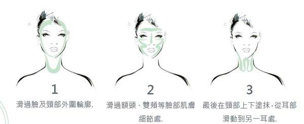 建議一週做 2-3 次臉、頸部面膜保養,並按照獨家沙龍緊緻拉提手技,搭配使用 「極緻面膜刷」強化拉提效果,讓你在家享受如頂級沙龍般的神奇抗老面膜.jpg