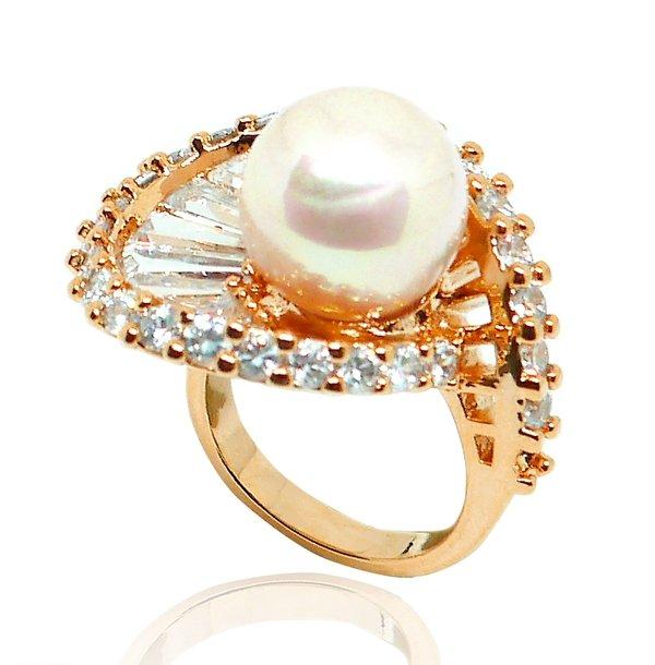 立體荷葉花戒指-白珍珠鍍粉紅金$6980.jpg