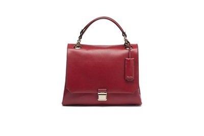 MIU MIU Ultimate 紅色小牛皮復古手提肩背包 約$ 71,500.jpg