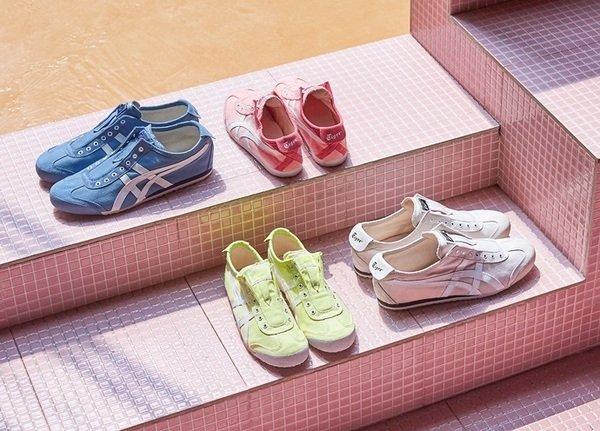 Onitsuka Tiger「MEXICO 66 SLIP-ON」無鞋帶系列充分展現夏季鞋履應該有的輕鬆感與粉嫩色系_系列形象圖.jpg