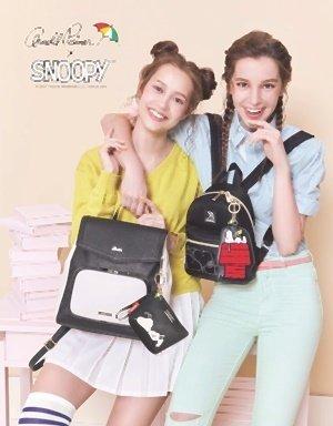1.Arnold Palmer推出Snoopy聯名款Soft bag和Black & White,推薦閨蜜們不妨挑選同款不同色,好友指數更上一層....jpg