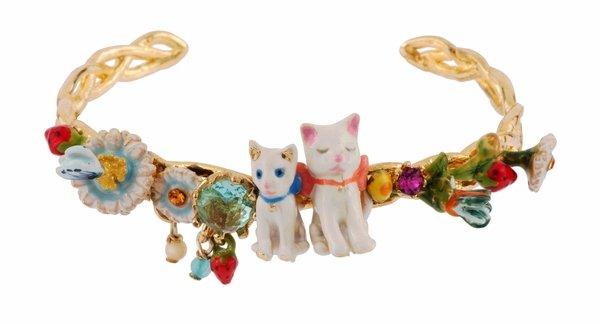 小貓的春日花園 開式手鐲NT$8400.jpg