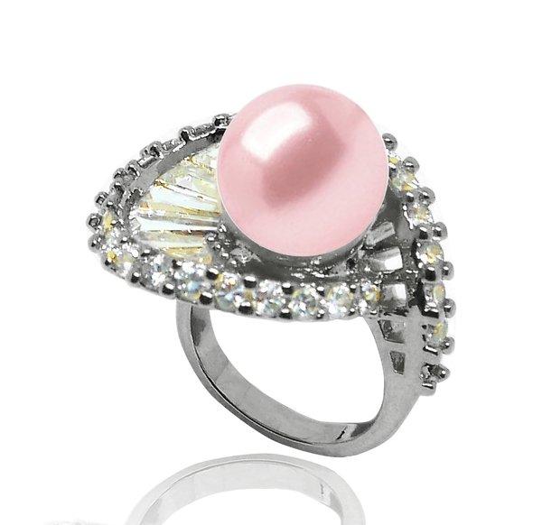 立體荷葉花戒指-粉珍珠鍍黑銠$6980.jpg