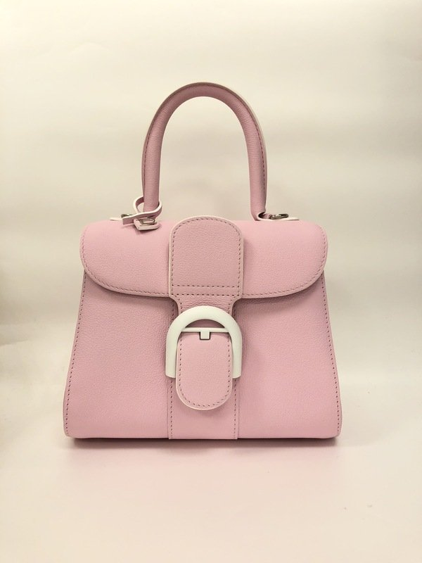 Brillant系列 玫瑰粉紅配象牙白扣小型肩揹手提包 $142,300 - 01.jpg