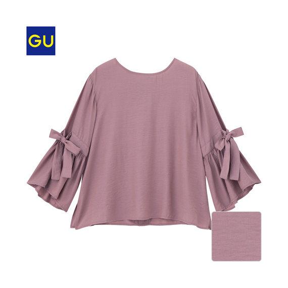 女裝鐘型袖上衣(7分袖)790.jpg