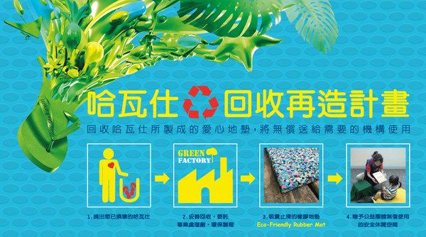 havaianas 哈瓦仕回收再造計劃 .jpg