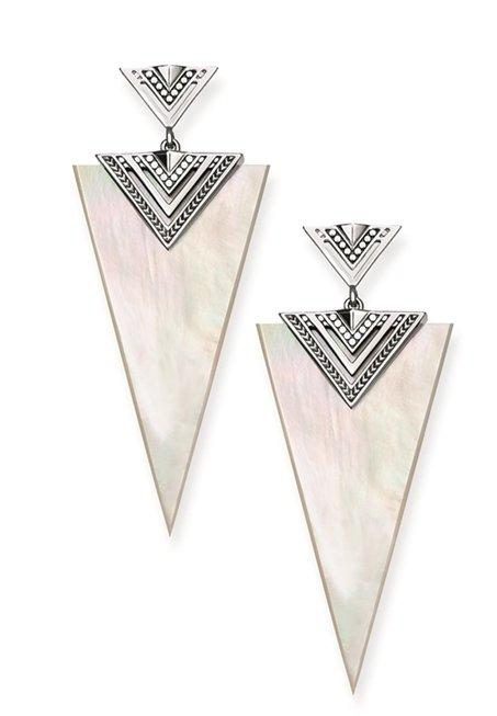 THOMAS SABO 白色珠貝三角耳環 NT$8,980.jpg