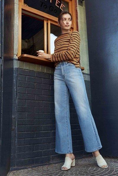 【UNIQLO新聞圖】女裝高腰寬版牛仔褲 引領新時尚 彰顯獨特風格.jpg