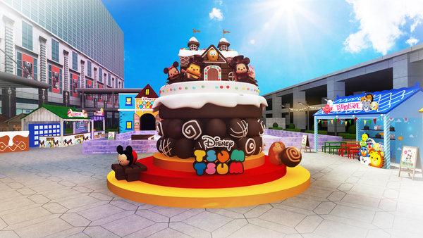 超巨型 TSUM TSUM 巧克力屋.jpg