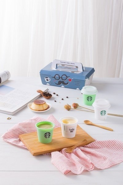 為符合台灣客群喜好,從口感、風味、杯身設計等皆在地研發,並特別運用專業技術,打造出台灣獨家的蒸布丁口感,更加滑順細緻,並結合寫杯祝福設計,令人會心一笑.jpg