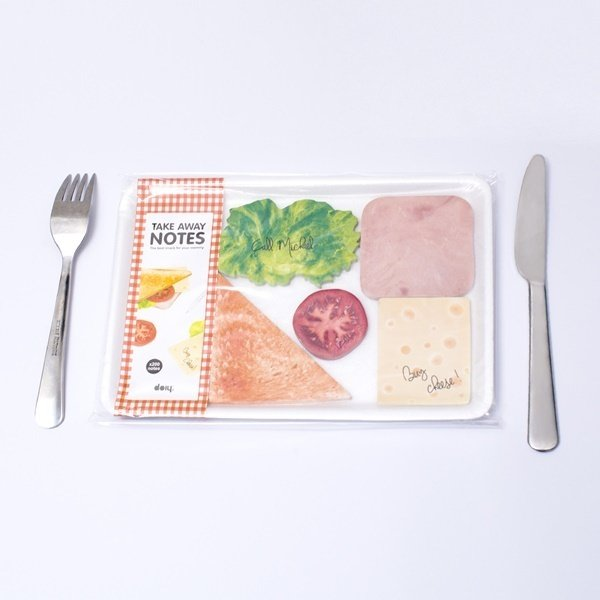 Take Away Sticky Notes 三明治Take Away 便利貼_NTD$480_3.jpg