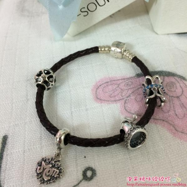 (已開獎)[穿搭ღ飾品] charms也可以很有個性美─SOUFEEL索菲爾珠寶手環X皮繩混搭