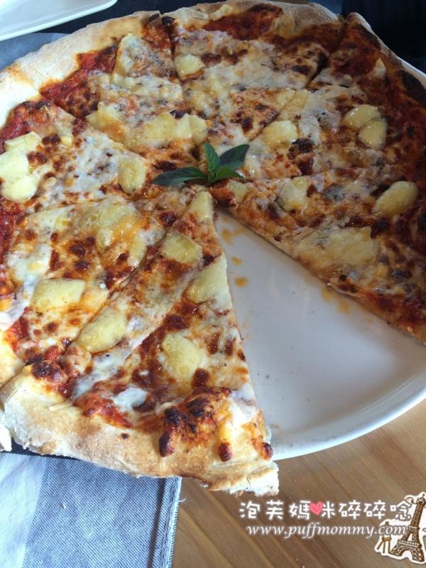[南投埔里ღ義大利麵] IL Giardino 義花園─道地的義式窯烤pizza、大草皮樹屋溜滑梯親子友善餐廳