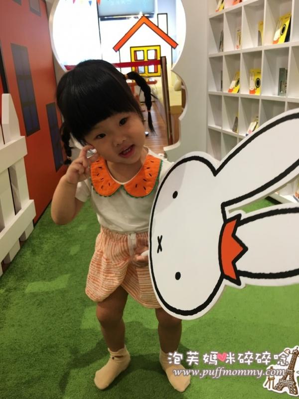 [桃園ღ親子餐廳] (2Y6M9D)可愛無敵的米飛兔餐廳,還可以喝下午茶喔!─miffy x 2% CAFE環球桃園A8店