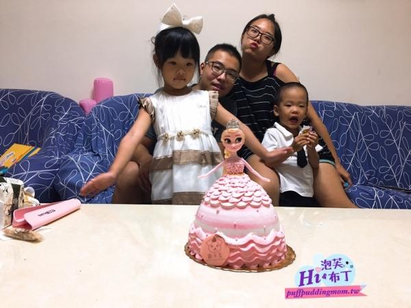 2018/10/07 泡芙在家裡慶生