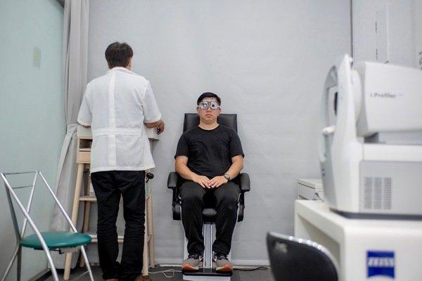 花壇眼鏡行 花壇眼鏡 花壇配眼鏡推薦-「彰化視康佳眼鏡行」蔡司驗光儀器體驗-直擊分享