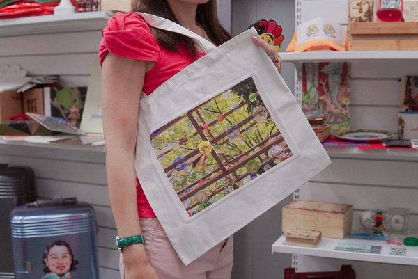 客製化印刷帆布袋-紡織直噴機
