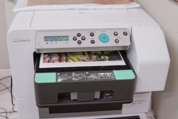 客製化帆布袋印刷流程-紡織直噴機推薦