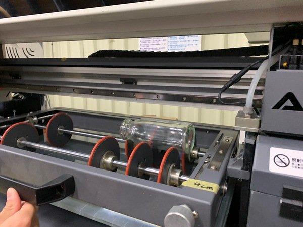 印刷玻璃瓶前置作業-UV直噴機推薦