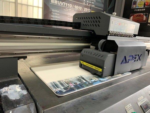 珪藻土地墊印刷過程-UV直噴機推薦