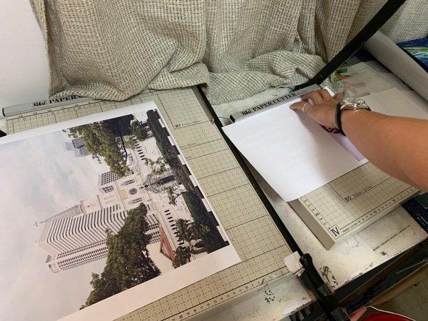 客製化抱枕紙張裁切-熱轉印機推薦