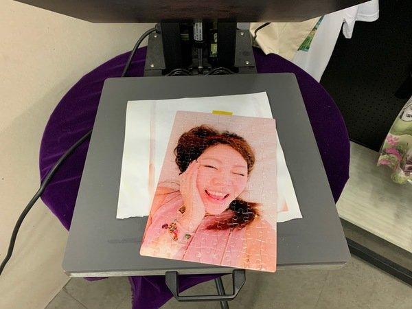 客製化拼圖印刷成品-熱轉印機推薦