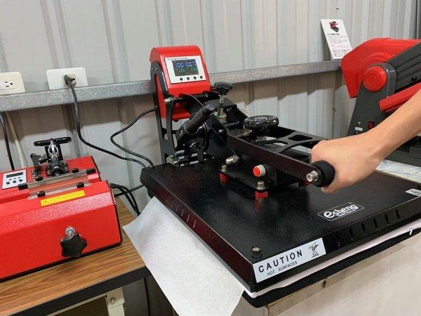 抱枕轉印按壓-熱轉印機