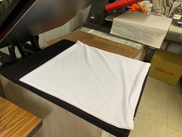 客製化抱枕轉印步驟-熱轉印機