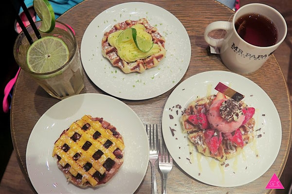 [GS愛吃鬼]MR.PAPA 比利時鬆餅專賣店X 超人氣平價東區下午茶