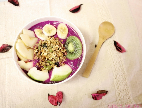 GS愛吃鬼| 早餐吃麥片 | 風靡全球的Acai Bowl 簡單做健康吃輕鬆瘦