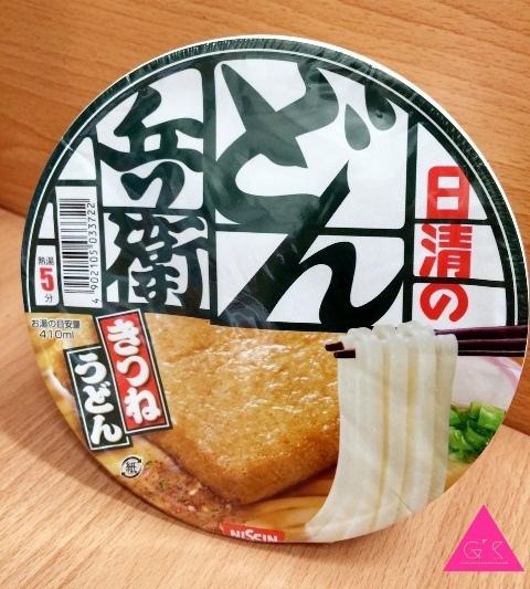 [GS愛吃鬼]日本X烏龍麵泡麵Xどん兵衛豆腐皮烏龍麵