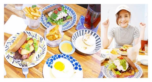 板橋早午餐。稜角室|創意三明治。IG熱門北歐清新裝潢 |新埔站美食。新埔站早午餐