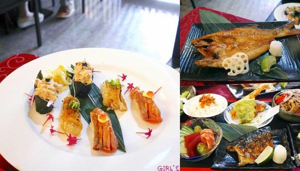 新店七張站日式美食|長田和食日本料理/和食套餐/居酒屋