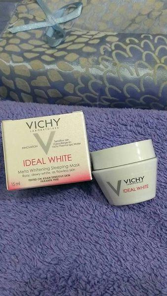 【❤保養】VICHY薇姿 新品【淨膚透白密集修護水面膜-獨特鎖水微囊科技】