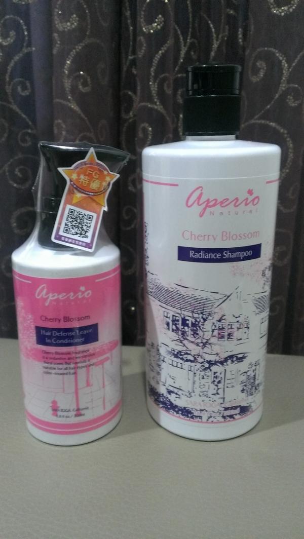 【❤身體保養】Aperio艾貝歐-櫻花輕盈洗髮精