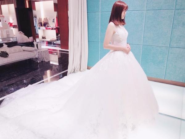 ▌婚紗體驗 ▎嘉義 紐約.紐約婚紗享用高質感的手工婚紗