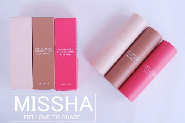 ▌彩妝 ▎韓國 MISSHA 雙頭刷毛腮紅膏x打亮膏x修容膏♥新手也能輕鬆修容