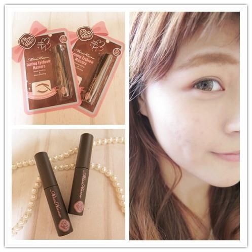 ▌彩妝 ▎Miss Hana 花娜小姐 持久顯色染眉膏♥立體妝感超有型