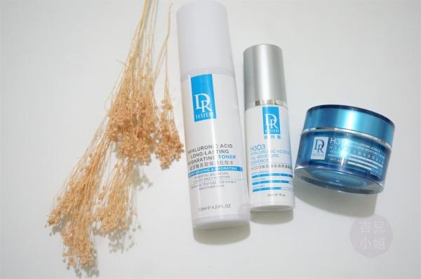 達特醫Dr Hsieh玻尿酸長效保濕化妝水、H3O3玻尿酸保濕潤澤精華液、H3V3玻尿酸保濕潤澤乳霜