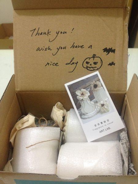 日本Art Lab香氛實驗室「字母小蠟燭」100%大豆蠟燭