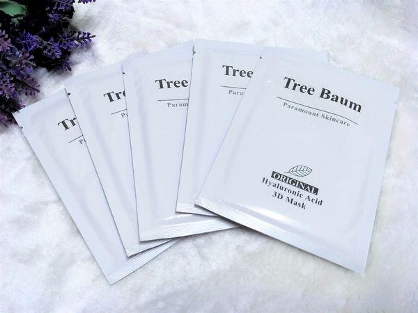 ♣ 森系保養品 ↬ Tree Baum 3D玻尿酸森酚淨白羽絲面膜 ✍ 體驗