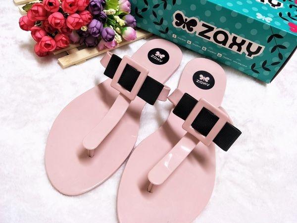 年輕時尚好穿搭  ZAXY 巴西漾彩果凍鞋  體驗
